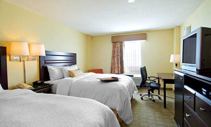 Hôtel Hampton Inn & Suites by Hilton Calgary-Airport, Alberta, Canada - Chambre double