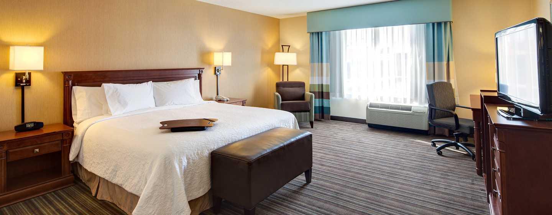 Hôtel Hampton Inn & Suites by Hilton Toronto Airport, Ontario, Canada - Chambre accessible aux personnes à mobilité réduite