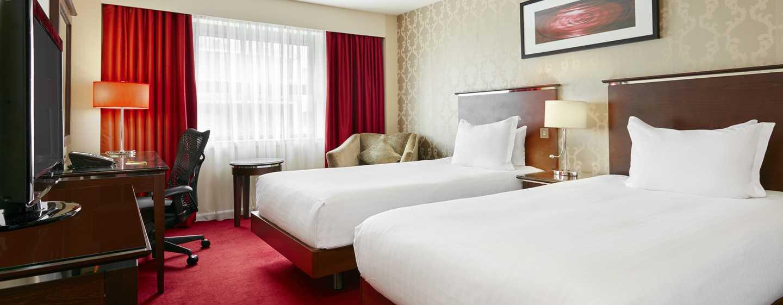 Hotell Hilton Garden Inn Aberdeen City Centre, Aberdeen, Storbritannia – Rom med to enkeltsenger