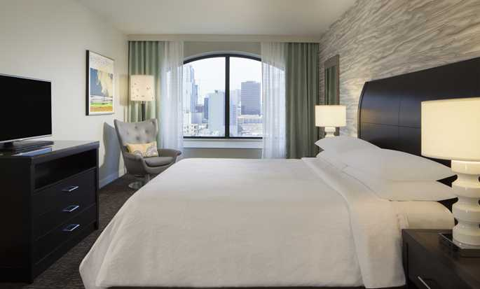 Hilton Garden Inn Austin Downtown/Convention Center, EE. UU. - Habitaciones PURE