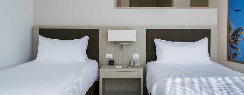 Hotel Hilton Garden Inn Barranquilla, Colombia - Habitación con camas dobles