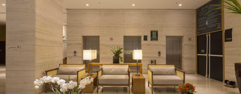 Hotel Hilton Garden Inn Belo Horizonte, Brasil - Lobby do Hilton Garden Inn Belo Horizonte