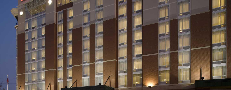 Hotell Hilton Garden Inn Nashville Vanderbilt, TN – Hotellet forfra