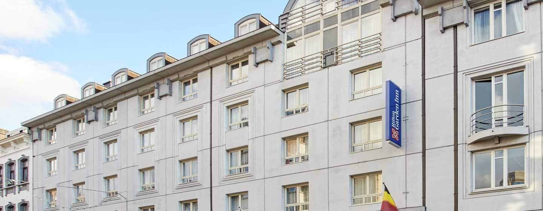 Hilton Garden Inn Brussels City Centre, België - Buitenkant hotel