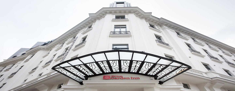 Hotelul Hilton Garden Inn Bucharest Old Town, România - Față hotel