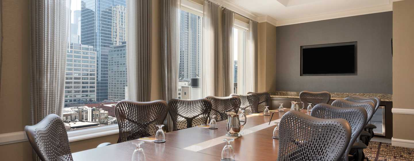 Hilton Garden Inn Chicago Downtown/Magnificent Mile Hotel, USA – Boardroom