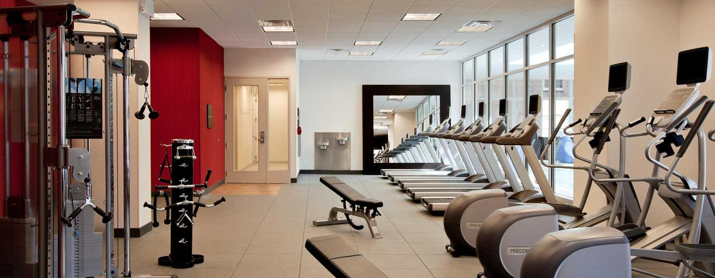 Hilton Garden Inn Chicago Downtown/Magnificent Mile Hotel, USA – Fitnesscenter