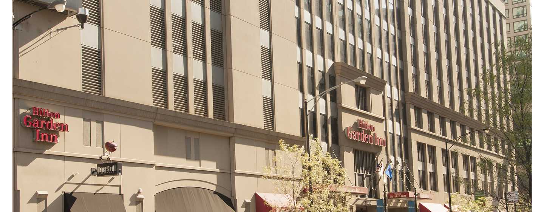 Hôtel Hilton Garden Inn Chicago Downtown/Magnificent Mile - Extérieur de l'hôtel