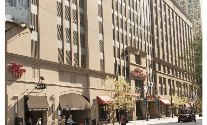 Hotel Hilton Garden Inn Chicago Downtown/Magnificent Mile, EE. UU. - Fachada del hotel