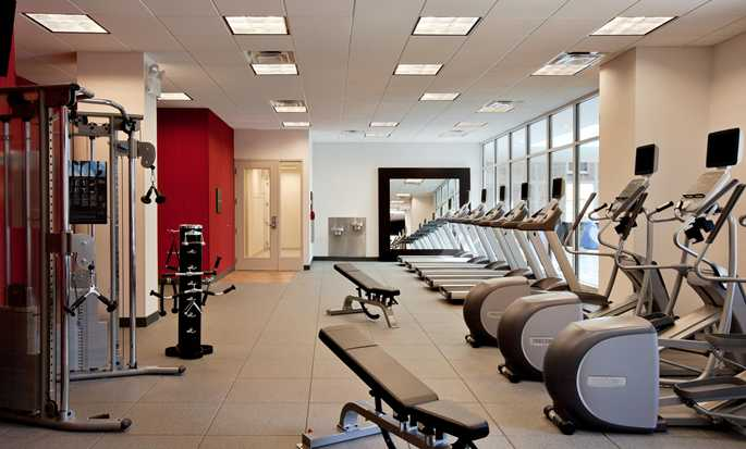 Hotel Hilton Garden Inn Chicago Downtown/Magnificent Mile, EE. UU. - Gimnasio