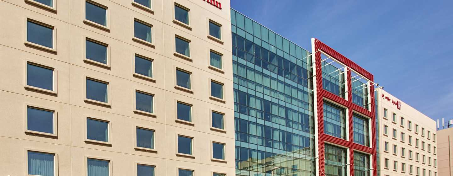 Hilton Garden Inn Mall of the Emirates Hotel, VAE – Außenbereich