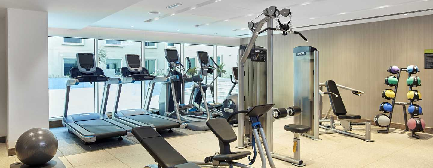 Hilton Garden Inn Mall of the Emirates Hotel, VAE – Fitnesscenter