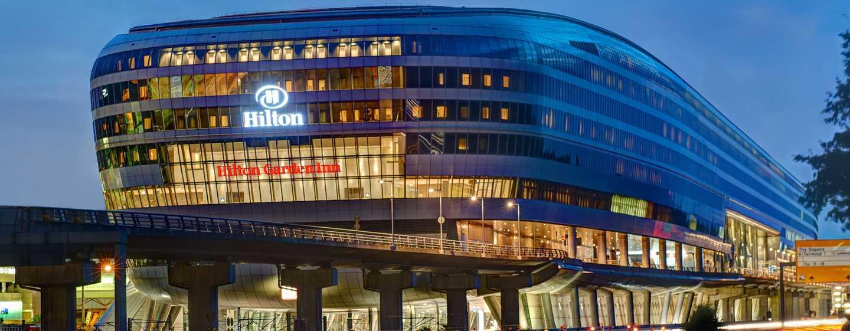 Hotel Hilton Garden Inn Frankfurt Airport, Alemania - Fachada de The Squaire
