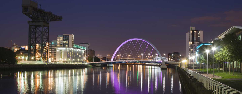 Hilton Garden Inn Glasgow City Centre, Großbritannien– Stadtbild