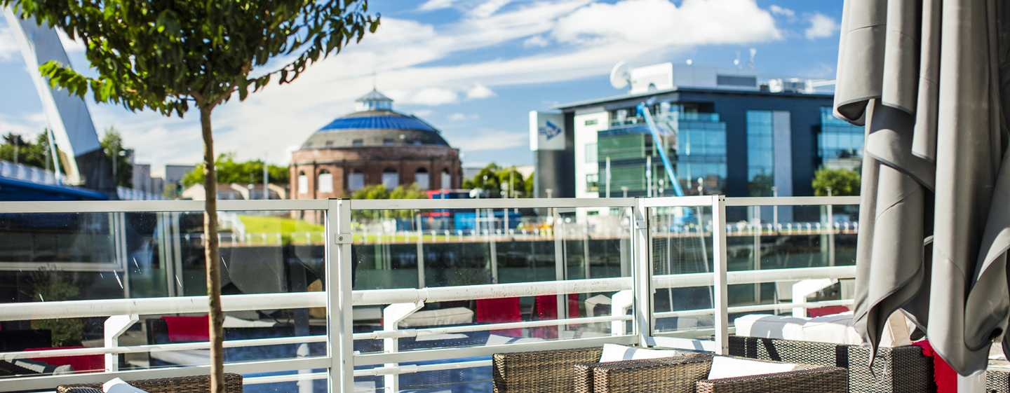 Hilton Garden Inn Glasgow City Centre, Großbritannien– Außenterrasse