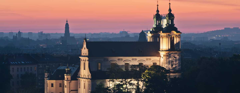 Hilton Garden Inn Kraków, Polska – Kościół na Skałce