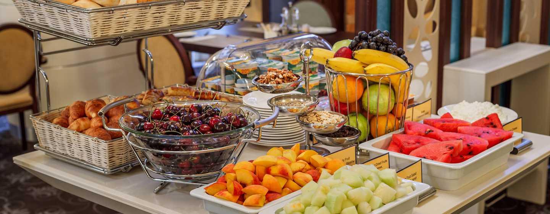 Hotel Hilton Garden Inn Krasnodar, Rosja – Śniadanie w formie bufetu