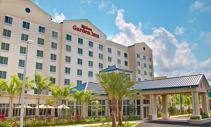 Hilton Garden Inn Miami Airport West, EUA - Exterior do hotel