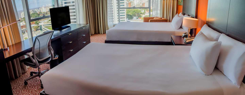 Hilton Garden Inn Montevideo, Uruguay - Habitación con cama doble