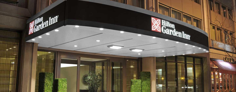 Hotel Hilton Garden Inn Times Square, fachada, entrada principal