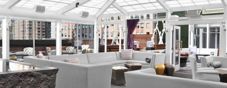 Hilton Garden Inn Times Square Hotel – Attic Lounge