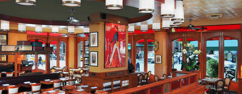 Hilton Garden Inn Times Square Hotel – Restaurant Pigalle