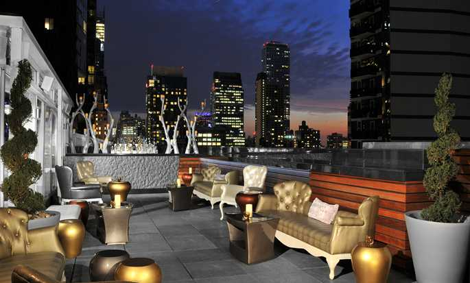 Hilton Garden Inn Times Square hotel - Roof top Lounge - Exterior