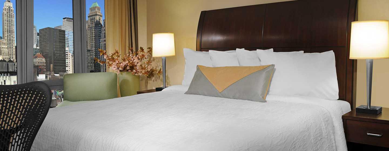 garden inn suites new york. Hotel Hilton Garden Inn New York/West 35th Street, EE. UU - Habitación Suites York R