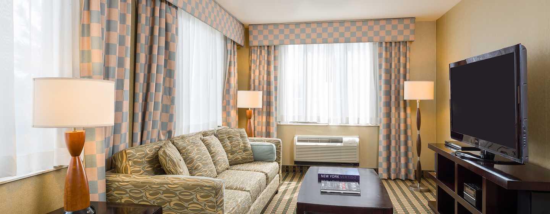 Hotel Hilton Garden Inn Nova York/Tribeca   Área De Estar Da Suíte King