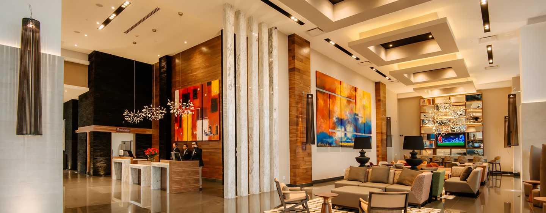 Hotel Hilton Garden Inn Puebla Angelópolis, México - Recepción