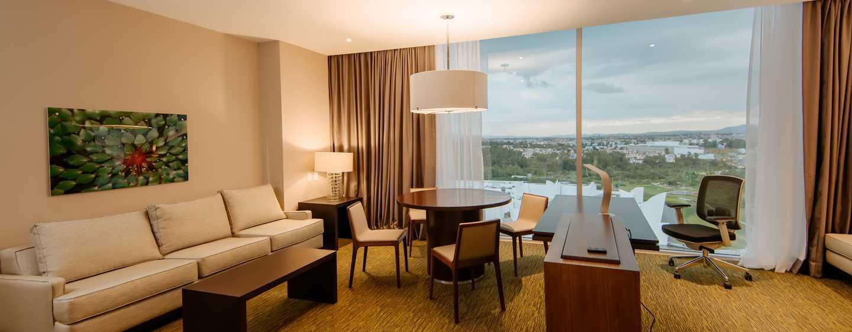 Hotel Hilton Garden Inn Puebla Angelópolis, México - Suite