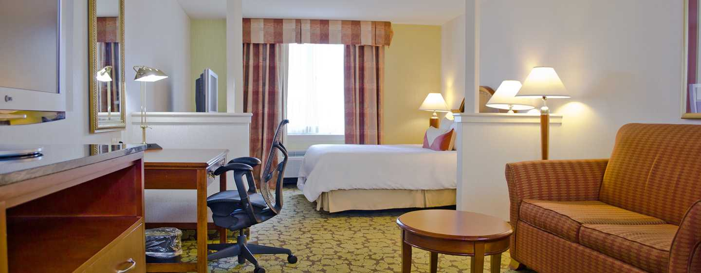 Hilton Garden Inn Philadelphia Center City Hotel, Pennsylvania, USA – Deluxe Suite mit King-Size-Bett