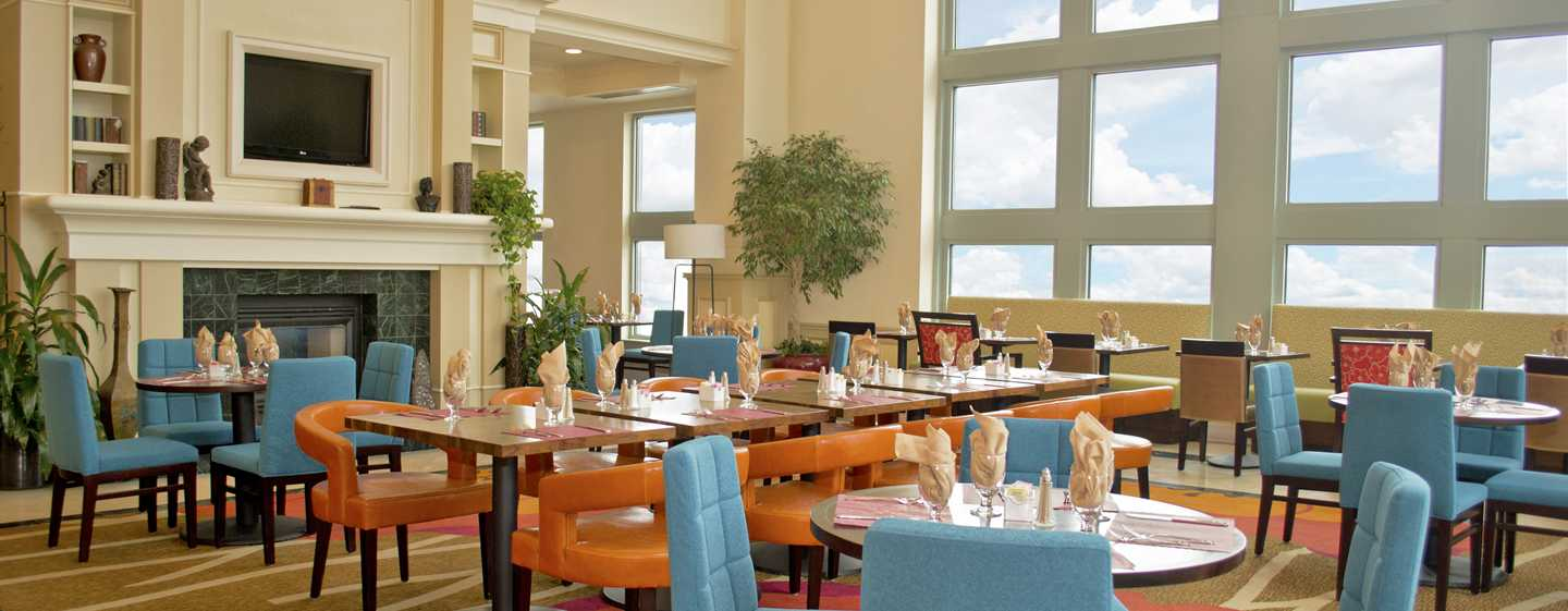 Hilton Garden Inn Philadelphia Center City Hotel, Pennsylvania, USA – Essbereich des Restaurants