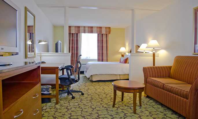Hilton Garden Inn Philadelphia Center City Hotel, Pennsylvania, USA – Suite mit King-Size-Bett