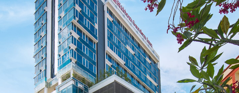 Hotel Hilton Garden Inn Singapore Serangoon, Singapura - Bagian Depan Hotel
