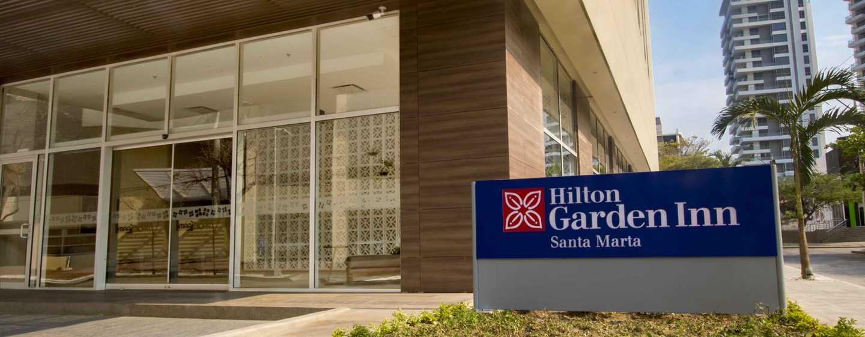 Hotel Hilton Garden Inn Santa Marta, Colombia - Entrada principal