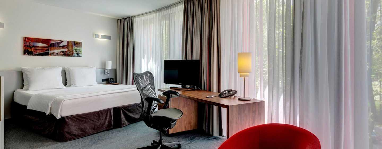 Hilton Garden Inn Stuttgart NeckarPark Hotel, Deutschland– komfortables Deluxe Zimmer