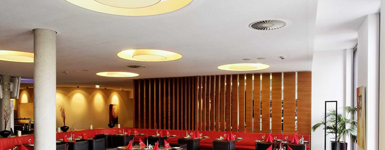 Hilton Garden Inn Stuttgart NeckarPark Hotel, Deutschland– Hotelrestaurant und Bar