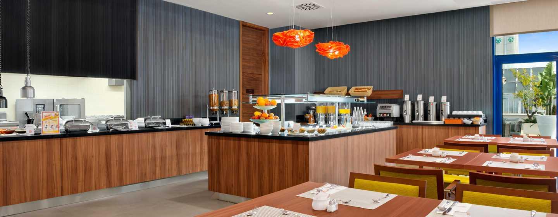 Hotel Hilton Garden Inn Sevilla, España - Área de desayuno