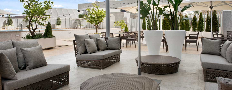 Hotel Hilton Garden Inn Sevilla, España - Terraza