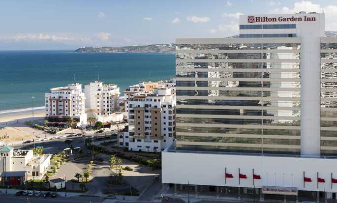 Hotel Hilton Garden Inn Tanger City Center, Marruecos - Vista de la fachada del hotel