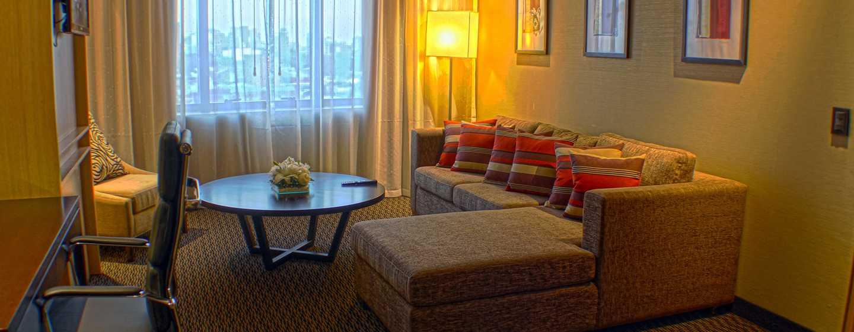 Hotel Hilton Garden Inn Tucuman Hotel, San Miguel, Argentina - Área de estar da suíte