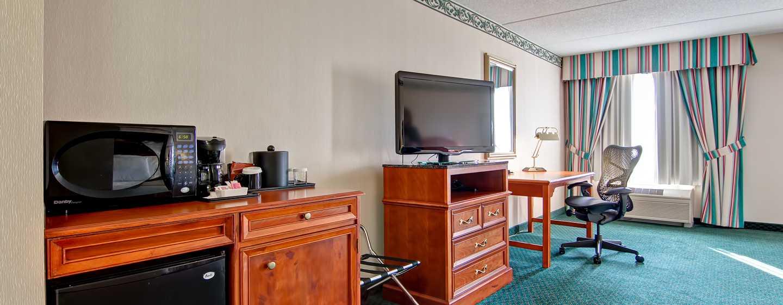 Hôtel Hilton Garden Inn Toronto/Mississauga, ON, Canada - Spacieuse chambre