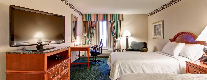 Hôtel Hilton Garden Inn Toronto/Mississauga, ON, Canada - Chambre avec deux lits