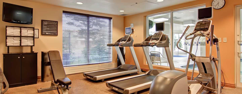 Hôtel Hilton Garden Inn Toronto/Mississauga, ON, Canada - Salle d'exercice