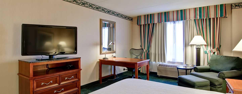 Hôtel Hilton Garden Inn Toronto/Mississauga, ON, Canada - Chambre avec très grand lit