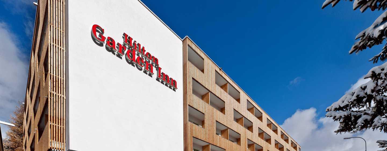 Hilton Garden Inn Davos Hotel, Davos, Schweiz– Außenbereich des Hotels