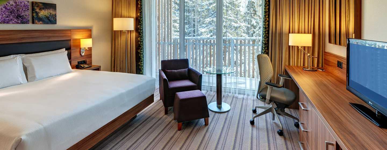 Hilton Garden Inn Davos Hotel, Davos, Schweiz– Barrierefreies Zimmer