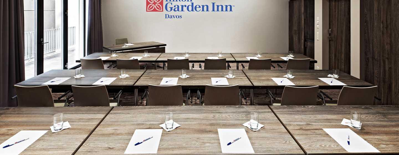 Hilton Garden Inn Davos Hotel, Davos, Schweiz– Meetingräume Madrisa und Parsenn