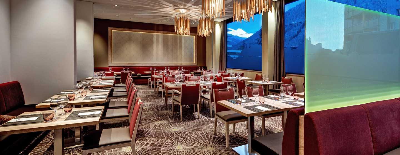 """Hilton Garden Inn Davos Hotel, Davos, Schweiz– Restaurant """"The Grill"""""""